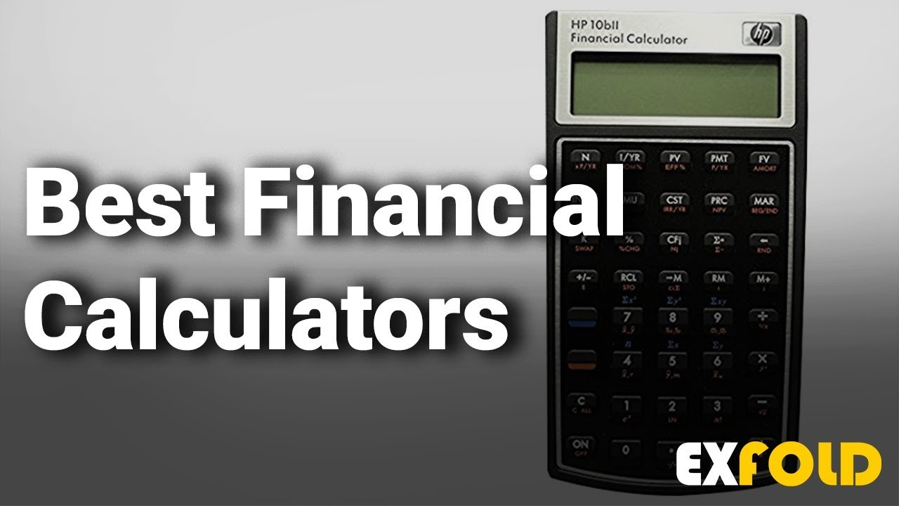 Best Financial Calculators