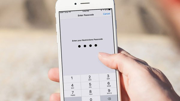 iOS Restriction Passcode Cracker